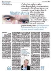 L'INCONTRO CON MARTIN AMIS