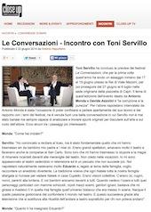 Le Conversazioni - Incontro con Toni Servillo