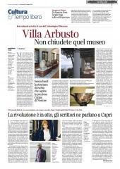 La rivoluzione e' in atto, gli scrittori ne parlano a Capri