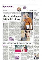 Meryl Streep su RaiUno si confessa con Monda