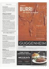 Alberto Burri at Guggenheim