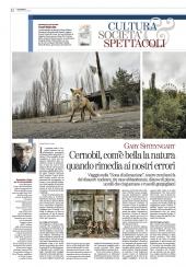 Cernobil, com'e' bella la natura quando rimedia ai nostri errori
