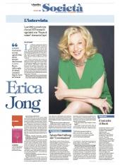Erica Jong, l'intervista