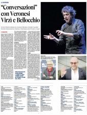 Conversazioni con Veronesi, Virzi' e Bellocchio