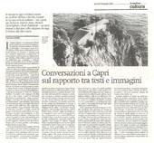 Conversazioni a Capri sul rapporto tra testi e immagini