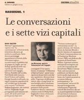 Le conversazioni e i sette vizi capitali