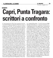 Capri, Punta Tragara: scrittori a confronto