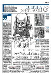 New York, la leggenda dei collezionisti di detriti