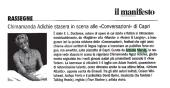 "Chimamanda Adichie stasera in scena alla ""Conversazioni"" di Capri"