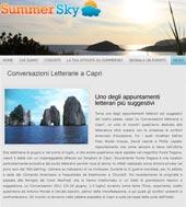 Conversazioni letterarie a Capri