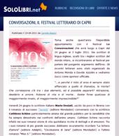 Conversazioni, il festival letterario di Capri
