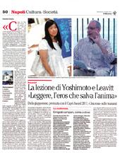 La lezione di Yoshimoto e Leavitt: Leggere, l'eros che salva l'anima