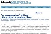 Le Conversazioni di Capri, otto scrittori raccontano l'Eros