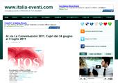 Al via Le Conversazioni 2011, a Capri dal 24 giugno al 3 luglio