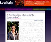"""A Capri la settima edizione de """"Le Conversazioni"""""""