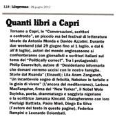 Quanti libri a Capri