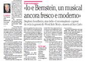 Io e Bernstein, un musical ancora fresco e moderno